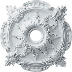 architecturaldepot.com -- looks like a good source for ceiling medallions for the wall art project