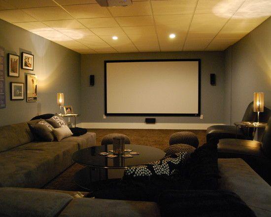 17 Best Images About Entertainment Room Basement Ideas On