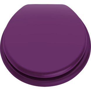 buy colourmatch toilet seat purple fizz at. Black Bedroom Furniture Sets. Home Design Ideas
