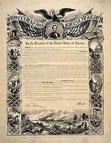 Whitewashing U.S. History on Slavery and Emancipation Proclamation.    Today is 150th anniversary of the Emancipation Proclamation and seems like a good time to dispel some common historical myths:    Myth: The Emancipation Proclamation ended slavery and freed all Black people who were enslaved    READ MORE HERE: http://knowyourprivileges.tumblr.com/post/39424230298/whitewashing-u-s-history-on-slavery-and-emancipation