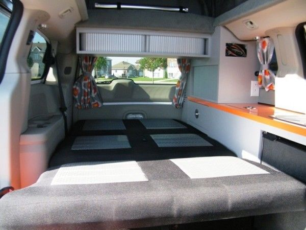 5 Mars RV Dodge Caravan Motorhome Conversion | TINY HOUSES ...