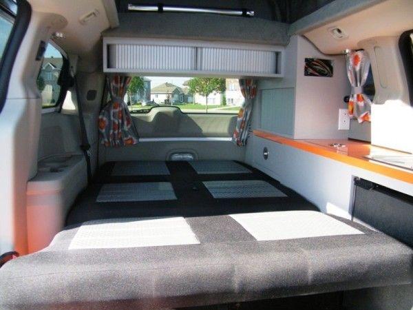 Suv Camper Conversion >> 5 Mars RV Dodge Caravan Motorhome Conversion | TINY HOUSES | Pinterest | Motorhome conversions ...