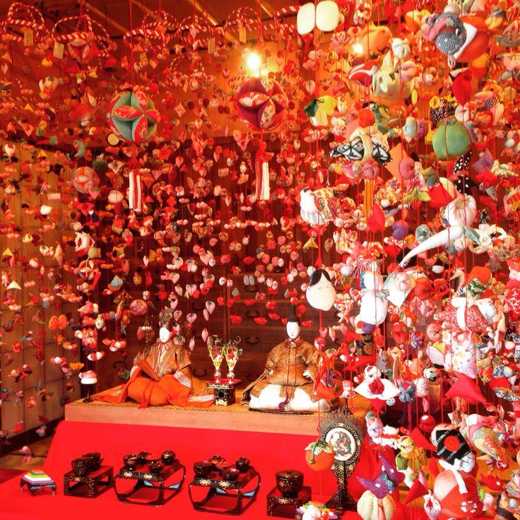 吊るし雛  #稲取温泉 #OHINASAMA #3月3日
