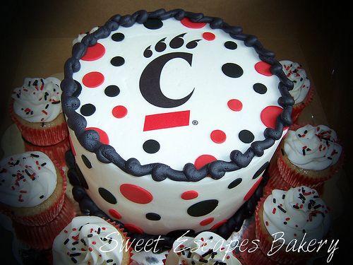 Uc Cake University Of Cincinnati Sweet Escapes Bakery