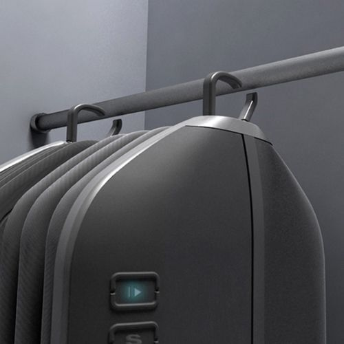 Modern Washing Machine Concept Sits Right Inside the Closet...amazing concept