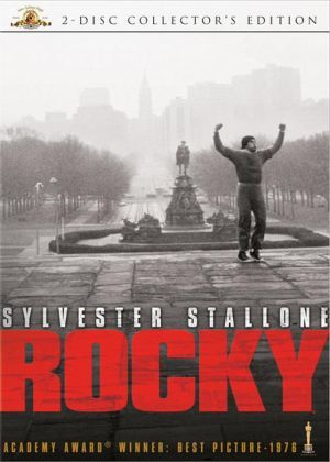 Rocky, Never watch this with my brother. They all think they are Rocky.
