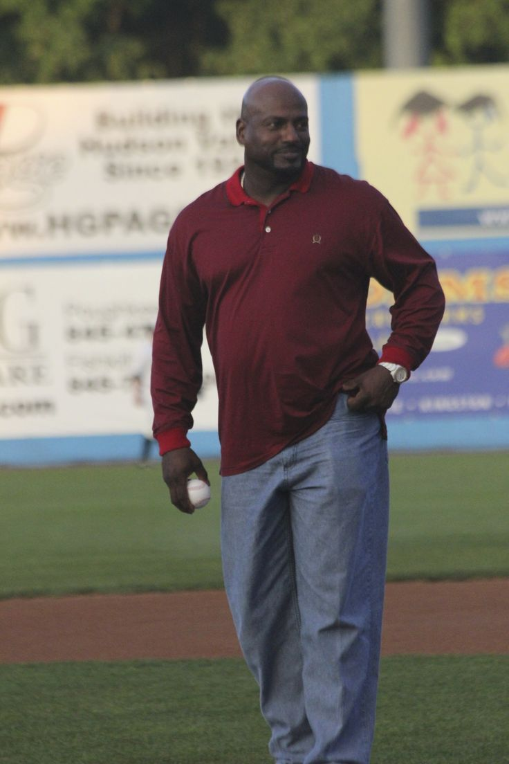 Ruben Sierra to throw out a first pitch at Dutchess Stadium on June 26, 2013.