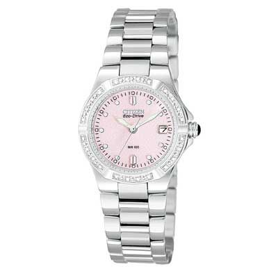 Ladies' Citizen ECO-Drive™ Riva Diamond Watch with Mother ...