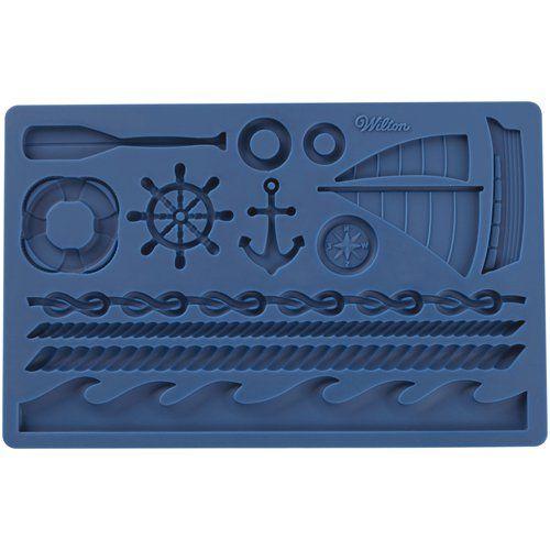 Silikonová forma námořnické motivy Wilton