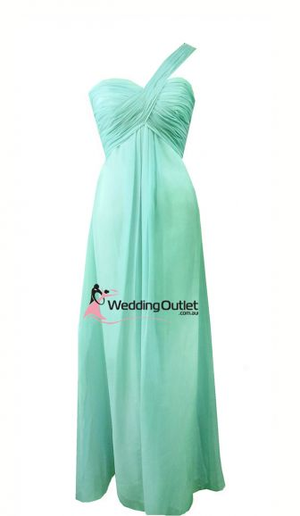 stunning color for bridesmaid dresses! Aqua Bridesmaid Dresses Style #F101