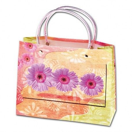 """Big and little Spring Bags, to put your """"give away presents"""" in."""