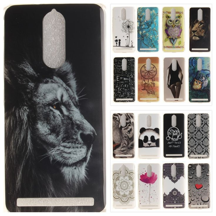 Vintage Phone Case For Lenovo A7020 Coque Silicone Tiger Lion Panda Floral Soft TPU Back Cover For Lenovo Vibe K5 Note #Affiliate