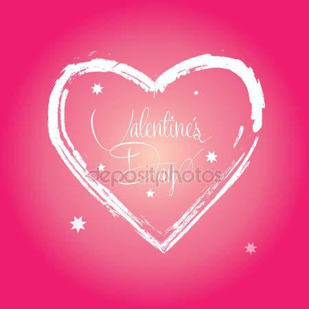 Best 25+ Happy valentines day calligraphy ideas on Pinterest ...