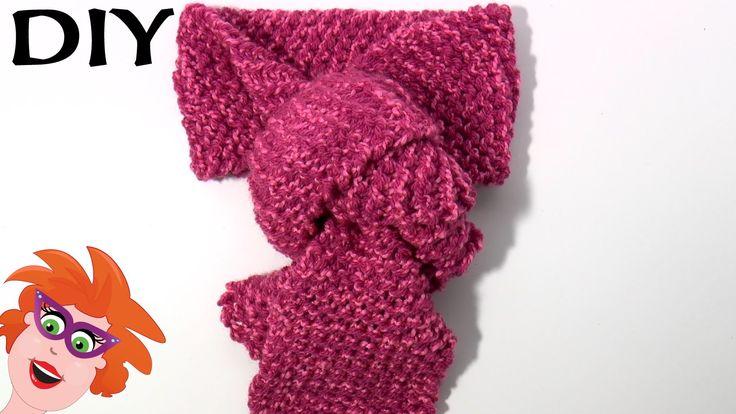 DIY zelf een roze sjaal maken. breien op Cra-Z-Knitz breiraam voor beginners