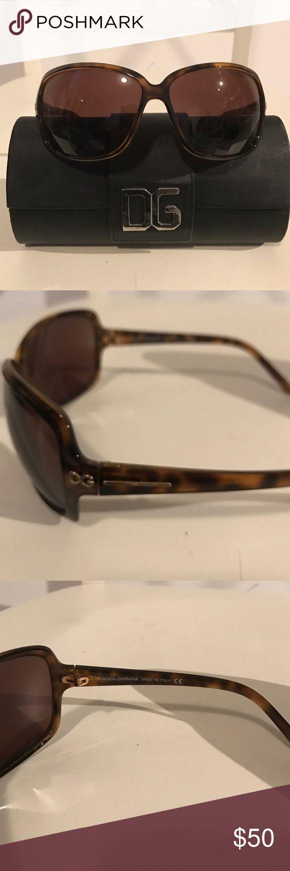 DOLCE & GABBANA:  brown tortoise sunglasses Brown classic tortoise shell dolce and gabbana sunglasses with original case! In amazing condition Dolce & Gabbana Accessories Sunglasses