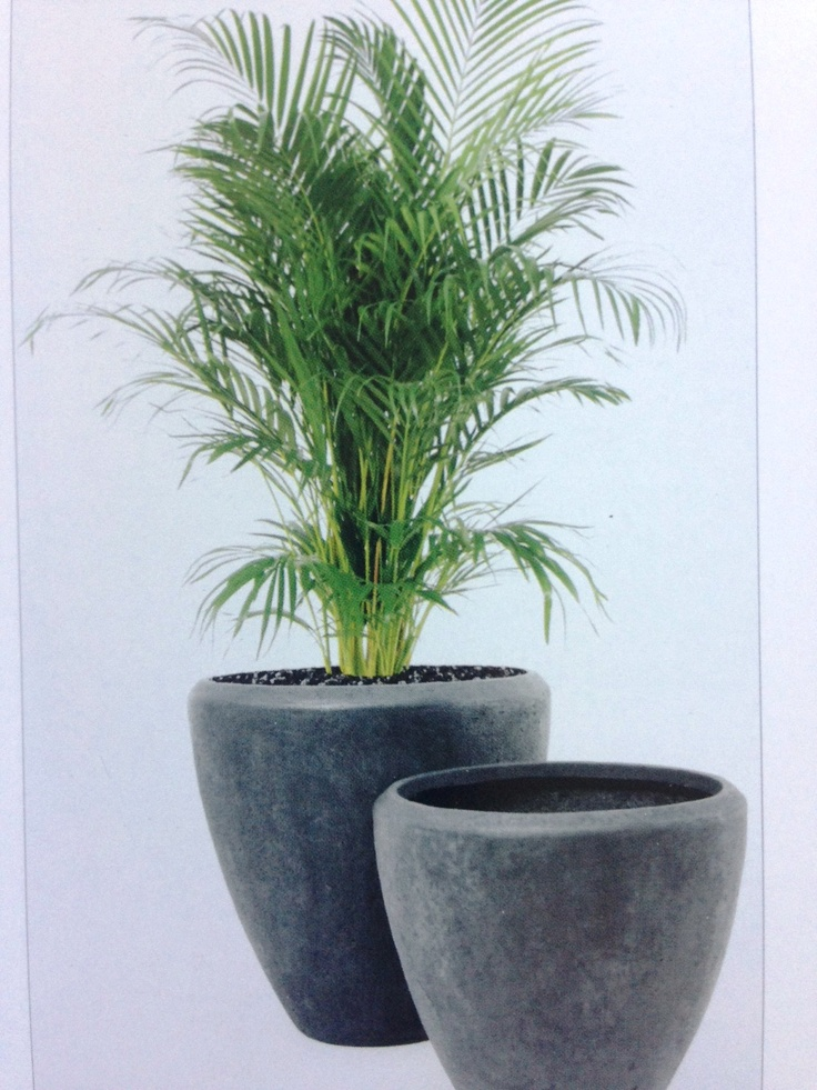 Polystone Planters (Polystone Is A Mixture Of Crushed Stone And Fibres).  Available In