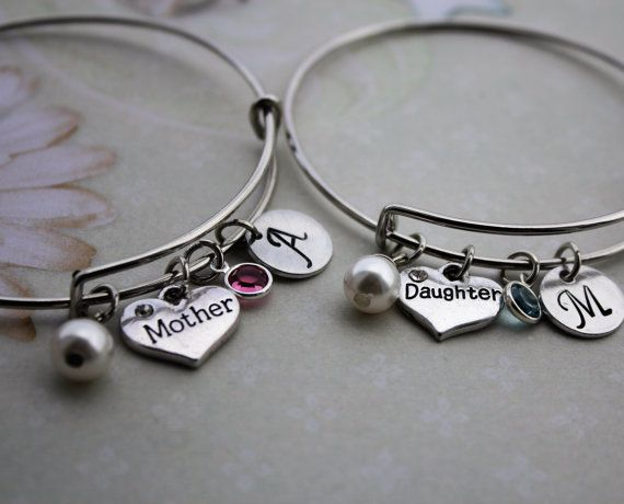 mother daughter bracelet set mother daughter by loveherbyalissa