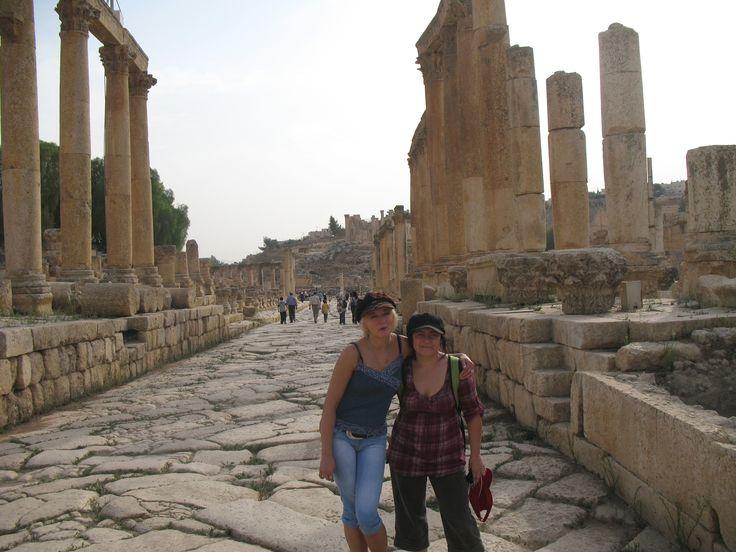 Jarash.Cardo Maximus,Jordan,Temple of Artemis ,Jerasz,dzerasz