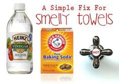 A Simple Solution For Better Smelling, More Absorbent Towels - One Good Thing by Jillee