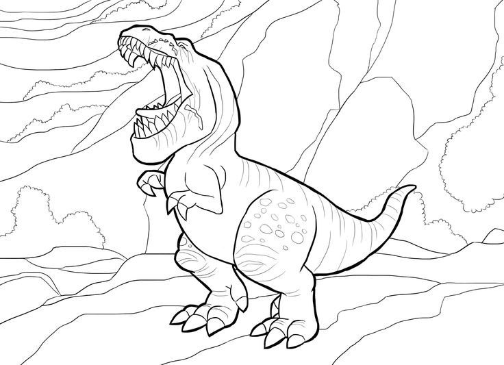 43 best Dinosaur Coloring Pages images on Pinterest | Dinosaurier ...