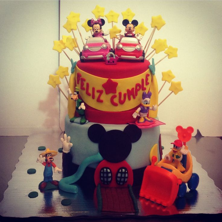 Cake Mickey y sus amigos