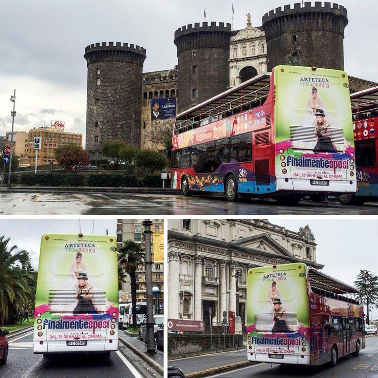 Arteteca: Film Finalmente Sposi ADV: Bus Itinerante Napoli #arteteca #finalmentesposi #napoli #film