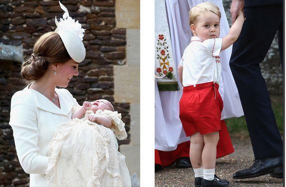 El día giró en torno a Charlotte pero los reflectores se enfocaron en George. El pasado 5 de julio, la princesa Charlotte fue bautizada en la iglesia Sandr