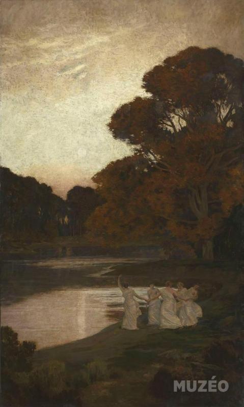 René Ménard - Crépuscule