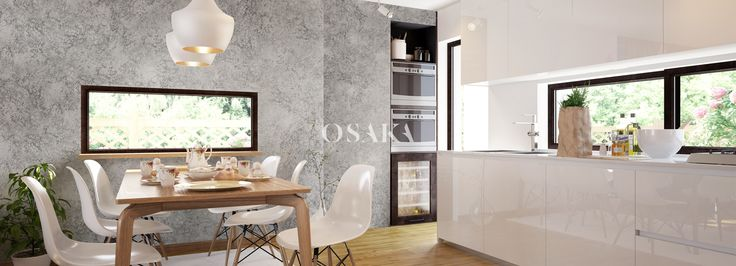 MADREPERLA de OSAKA es una pintura decorativa con efecto nacarado y en varios colores listos al uso, tanto para interiores modernos como clásicos o rústicos.  www.osaka.es