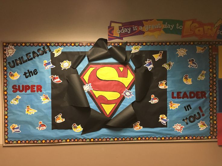 25 best ideas about superhero bulletin boards on for Decorating bulletin boards for work