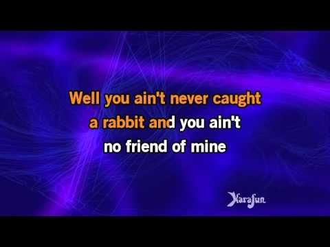 Karaoke Hound Dog - Elvis Presley * - YouTube
