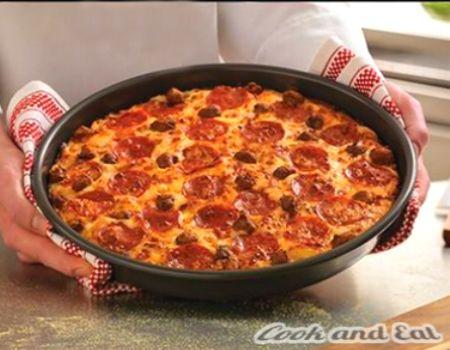 Рецепт Пицца на скорую руку - Основные блюда - Cook and Eat