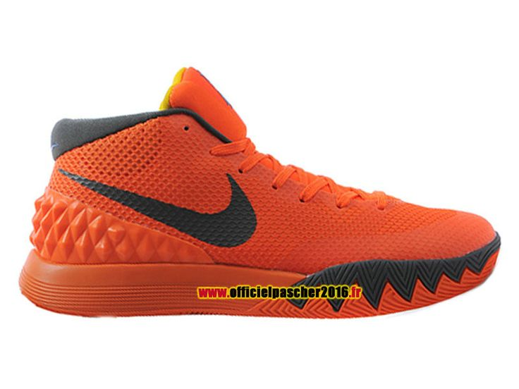Officiel Nike Kyrie 1 iD Chaussures Nike Basket-ball Pas Cher Pour Homme  Black -