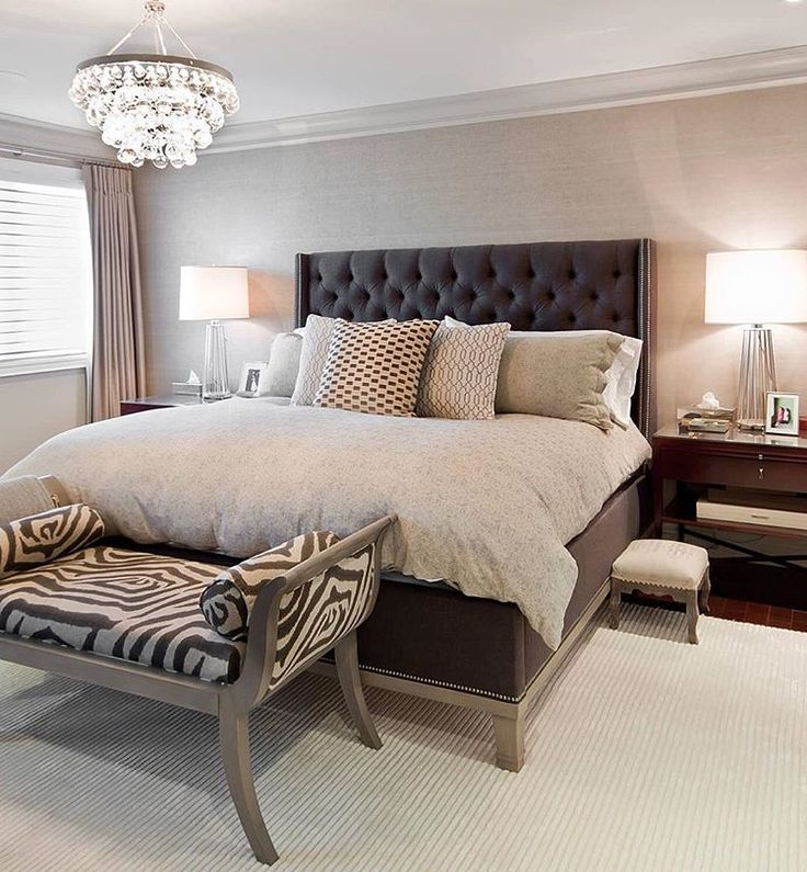 Bedroom Color Ideas With Dark Furniture Bedroom Decorating Ideas With Tufted Headboard Zen Master Bedroom Ideas Bedroom Color Ideas Gray: 40 Best Window Behind Bed Images On Pinterest
