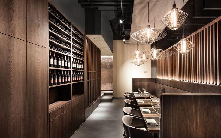 interior design, restaurant Enso Sushi & Grill by DIA – Dittel Architekten
