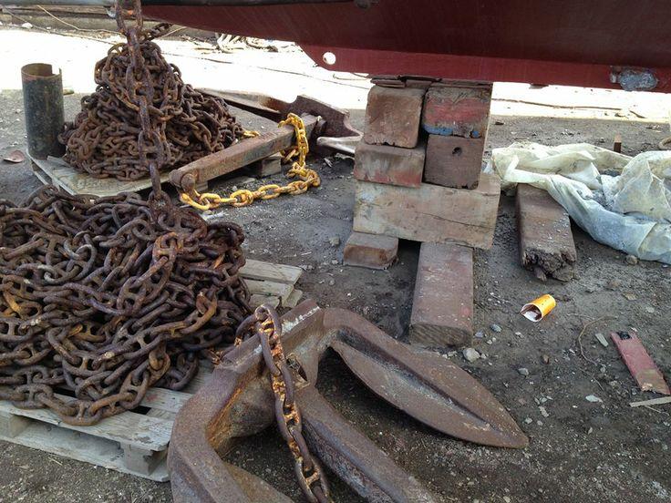 anchors of ship