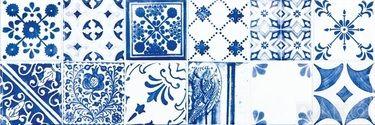 Rako MAJOLIKA Obklad, modrá, 59,8 x 19,8 cm WARVE146 - Bagno.CZ