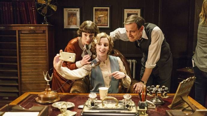 Drones at Downton? See unexpected, charming, and revealing pictures of the Downton Abbey cast and set behind the scenes of Episode 3 of Downton Abbey Season 6 as seen on MASTERPIECE on PBS! #DowntonPBS