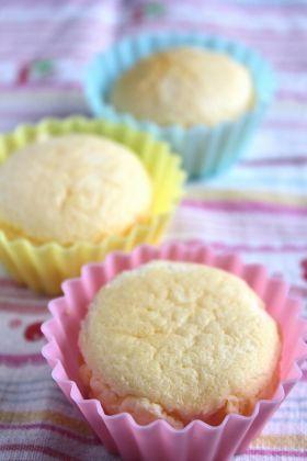 「小さな…半熟スフレチーズケーキ」ブラン ネージュ | お菓子・パンのレシピや作り方【corecle*コレクル】