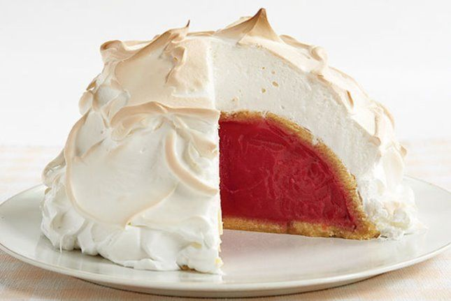 Whip up this classic Baked Alaska for dessert.