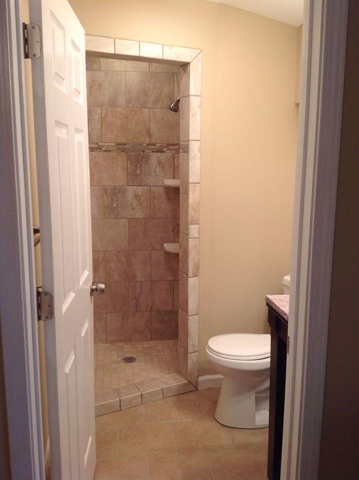 171 best showers images on pinterest for Total bathroom remodel