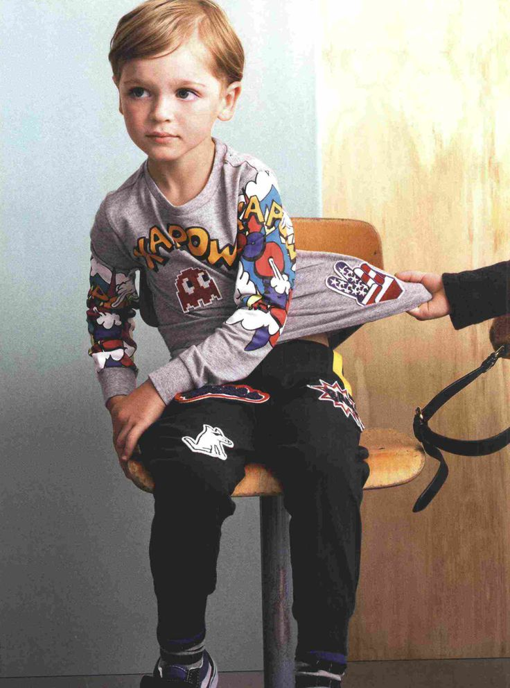 #SilvianHeachKids su #MarieClaireEnfants #MarieClaire. #fashion #kids #press @marieclaire