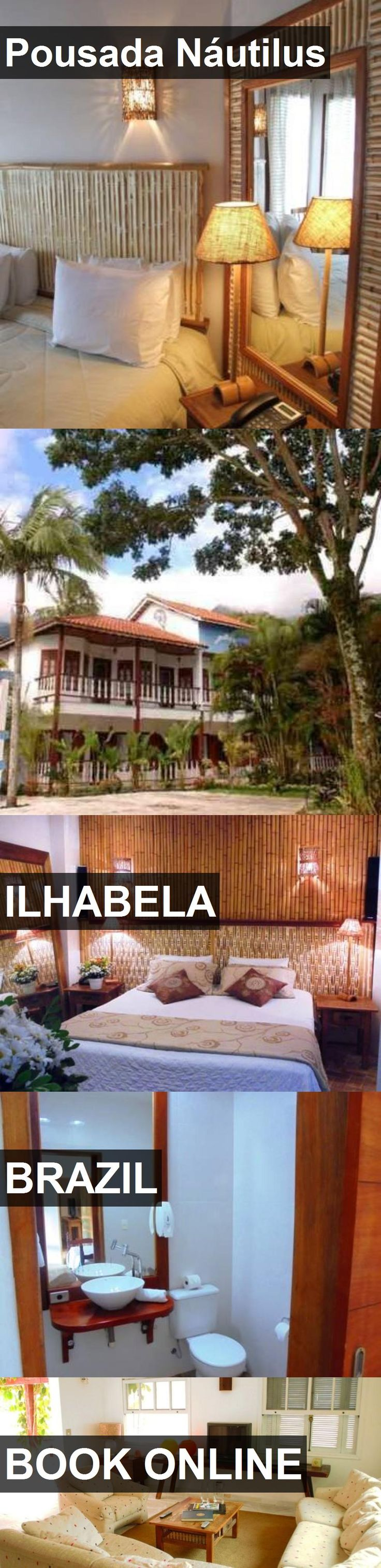 Hotel Pousada Náutilus in Ilhabela, Brazil. For more information, photos, reviews and best prices please follow the link. #Brazil #Ilhabela #PousadaNáutilus #hotel #travel #vacation