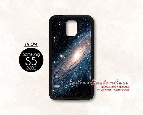 galaxy nebula for Samsung S5 Black case