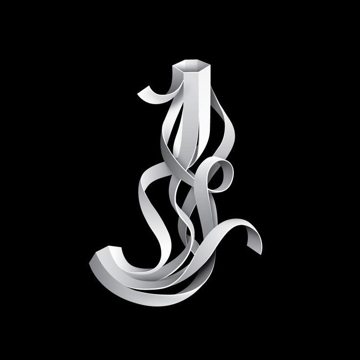 FontFront – letter 'J'