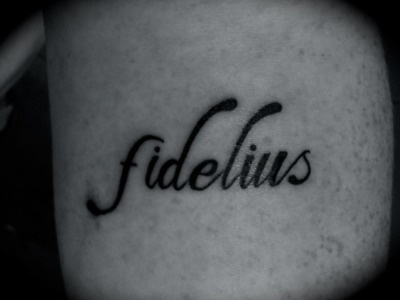 fidelius has latin roots meaning loyalty but it is
