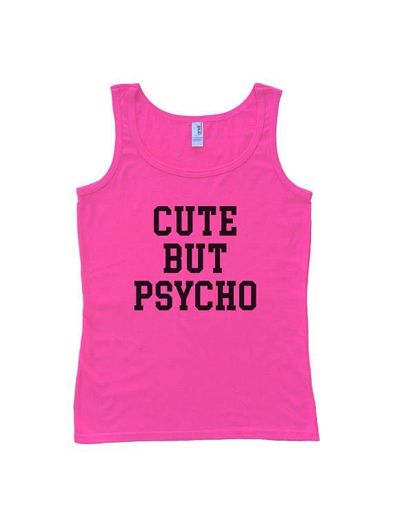 Cute But Psycho Women's Tank Top  Gift For Women  Gift