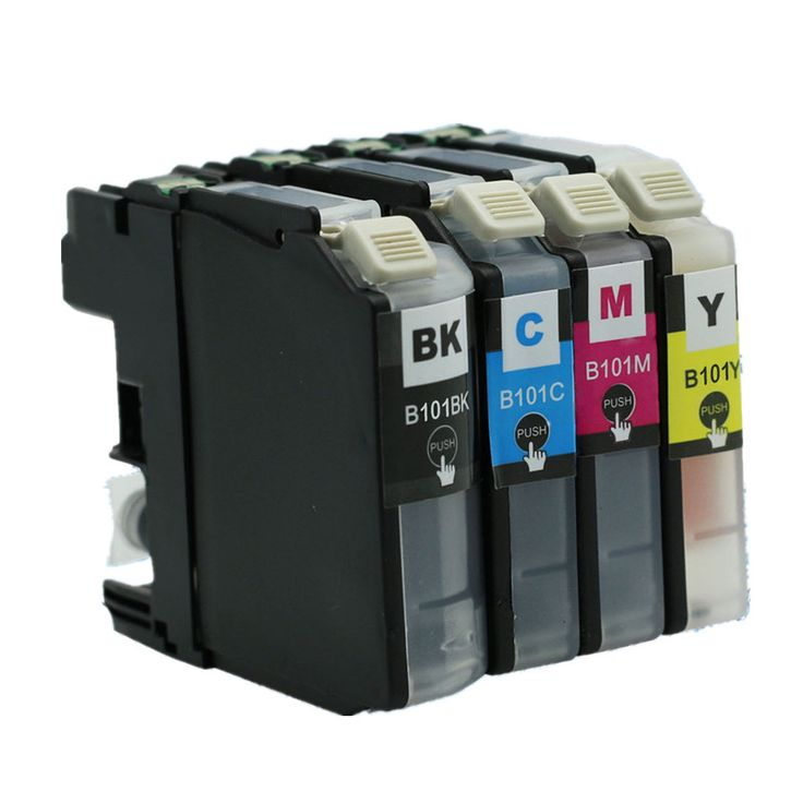 LC101XL LC101 LC-101 LC 101 XL Inkjet Ink Cartridges For Brother MFC J245 DCP J152W MFC-J285DW MFC-J450DW MFC-J470DW Printer #Affiliate