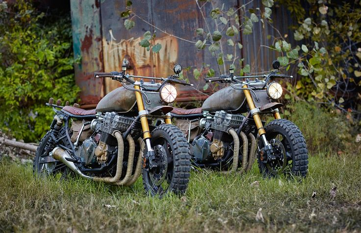 Moto-Mucci: DAILY INSPIRATION: Classified Moto 1992 Honda CB750 Nighthawk - The Walking Dead