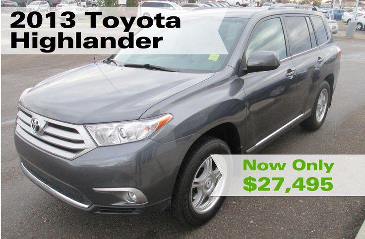 Used 2013 Toyota Highlander    Lethbridge Toyota   Used Car Dealerships Lethbridge